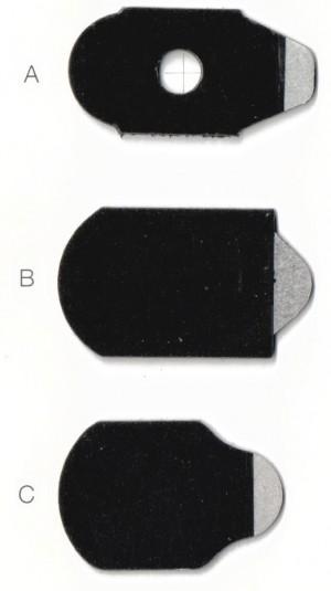 Липкие сегменты для обработки краёв линз  «Комби-Гидро»  (Combi-Hydro)
