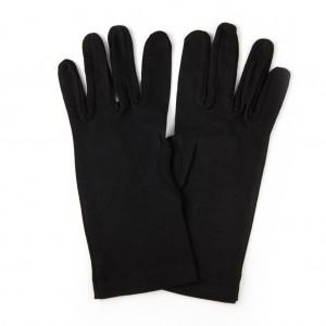 Хлопчатобумажные перчатки черные