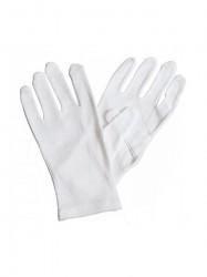 Хлопчатобумажные перчатки белые